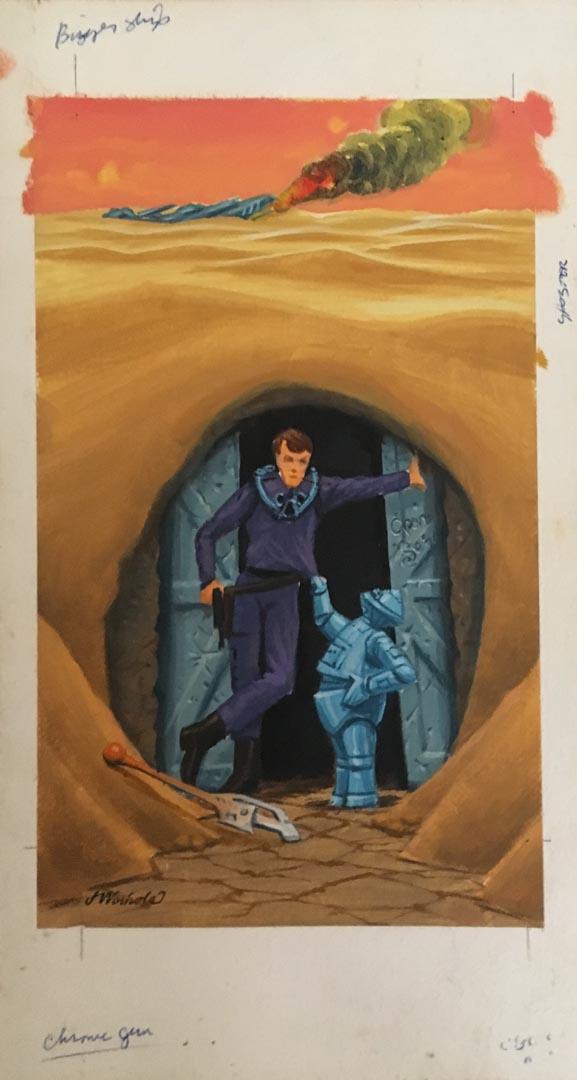 Original James Warhola painting for sale original comic art for sale